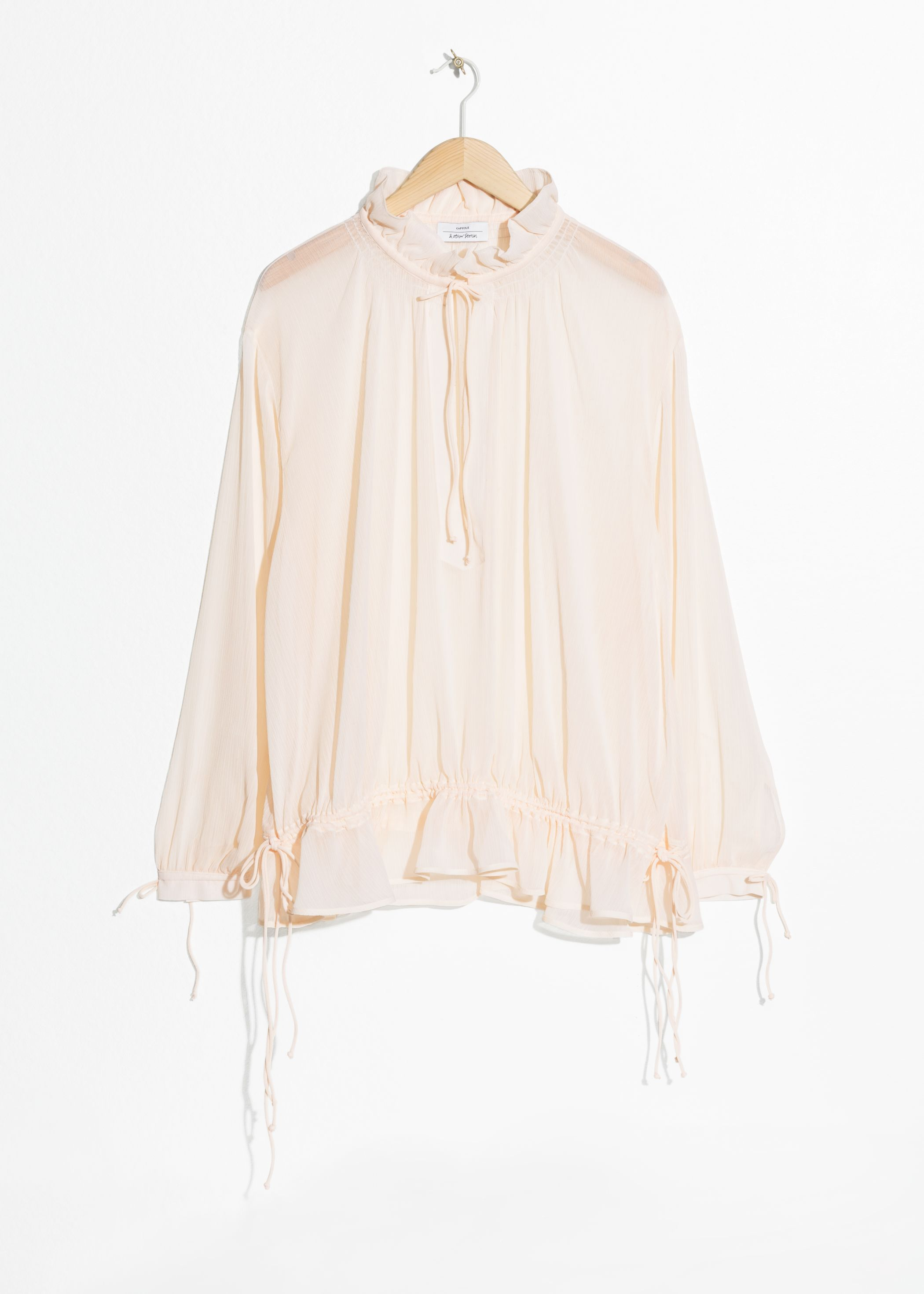 Billowy Drawstring Tunic