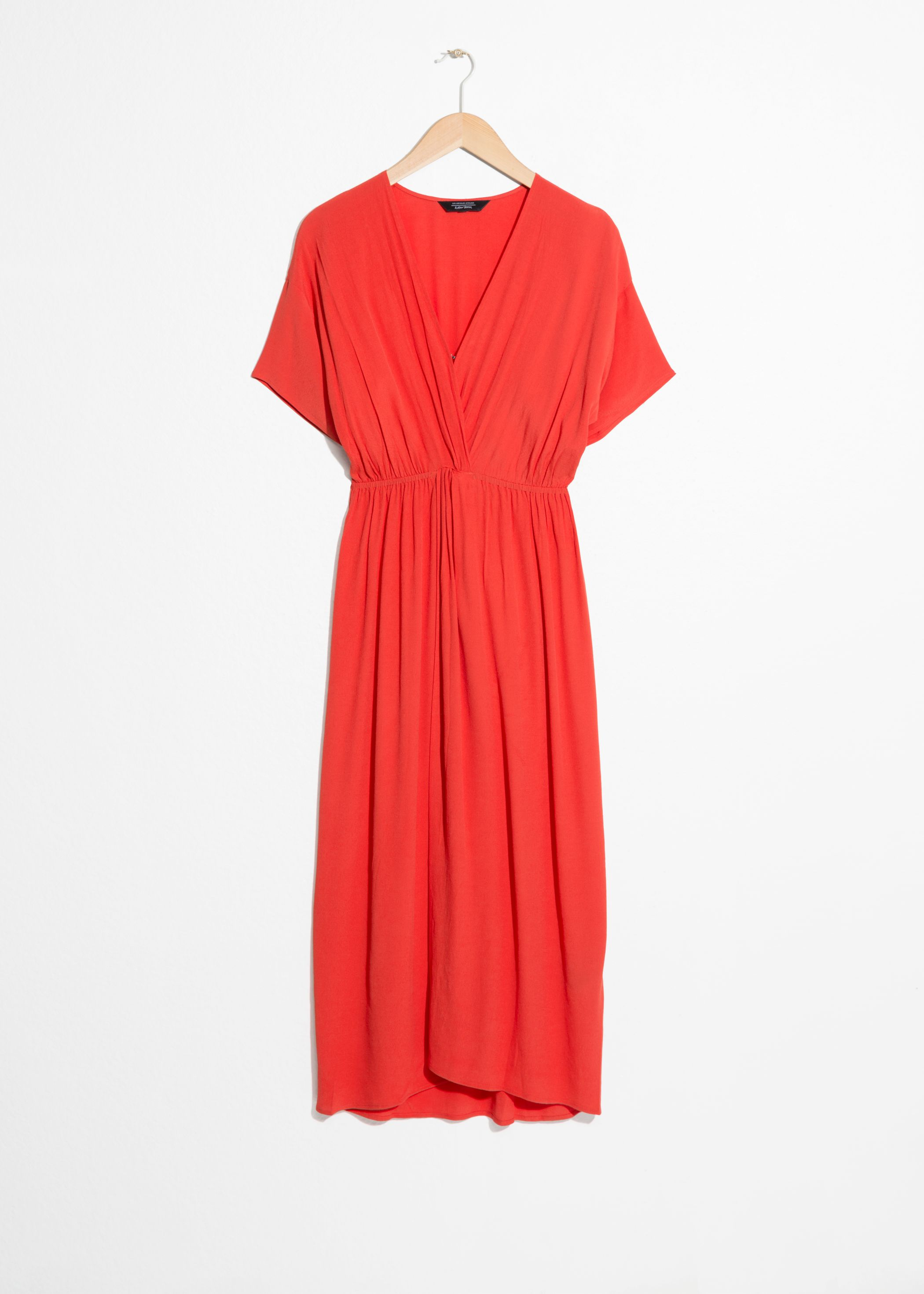 Twist Knot Midi Dress