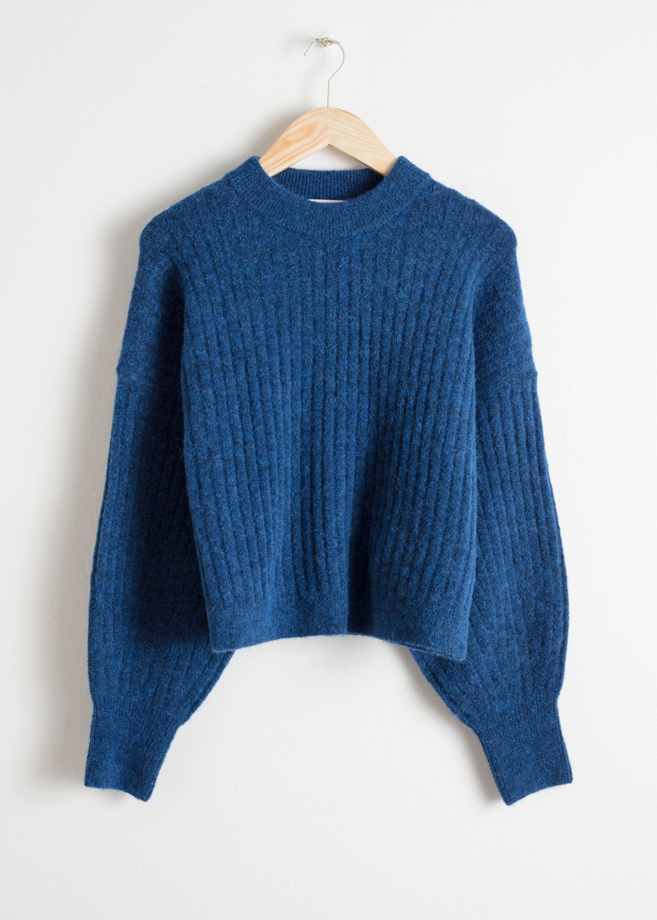 Alpaca Blend Knit Sweater