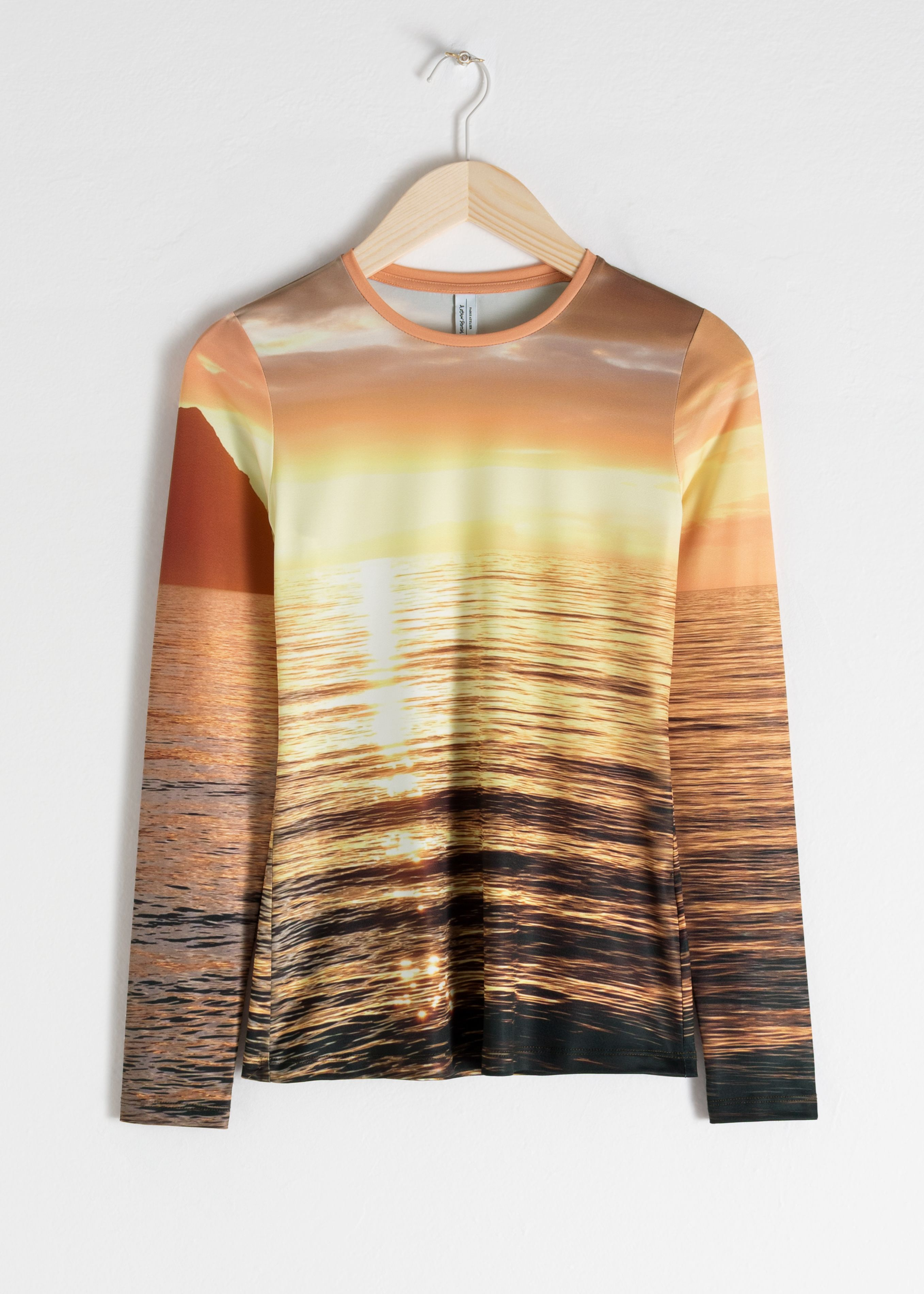 Long Sleeve Sunset Top
