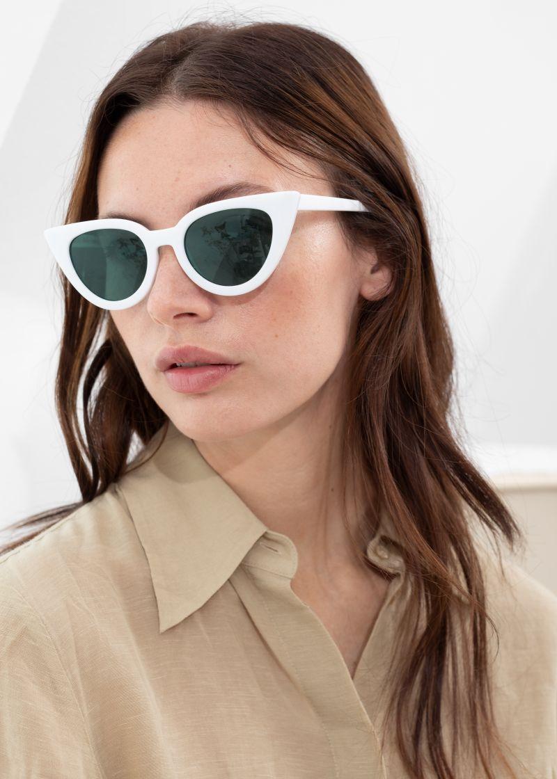 1b0deceac582ee Angular Cat Eye Sunglasses Black Black DESIGNED IN STOCKHOLM