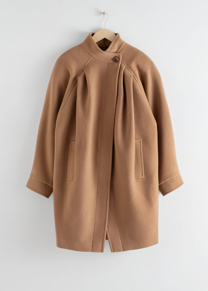 Oversized Single Button Coat