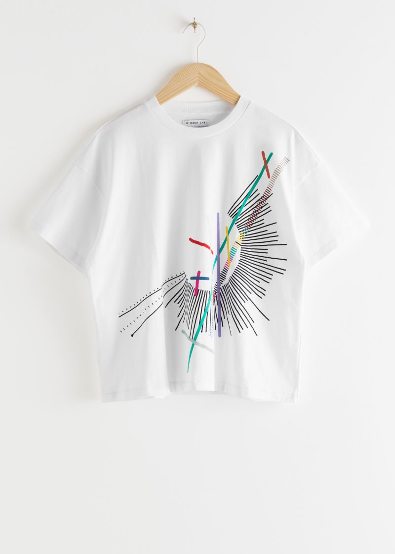 Giorgia Lupi Printed Organic Cotton T-Shirt