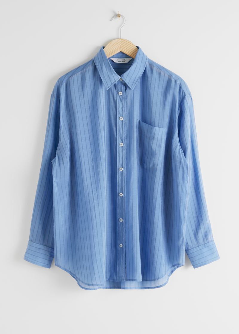 Oversized Button Up Shirt