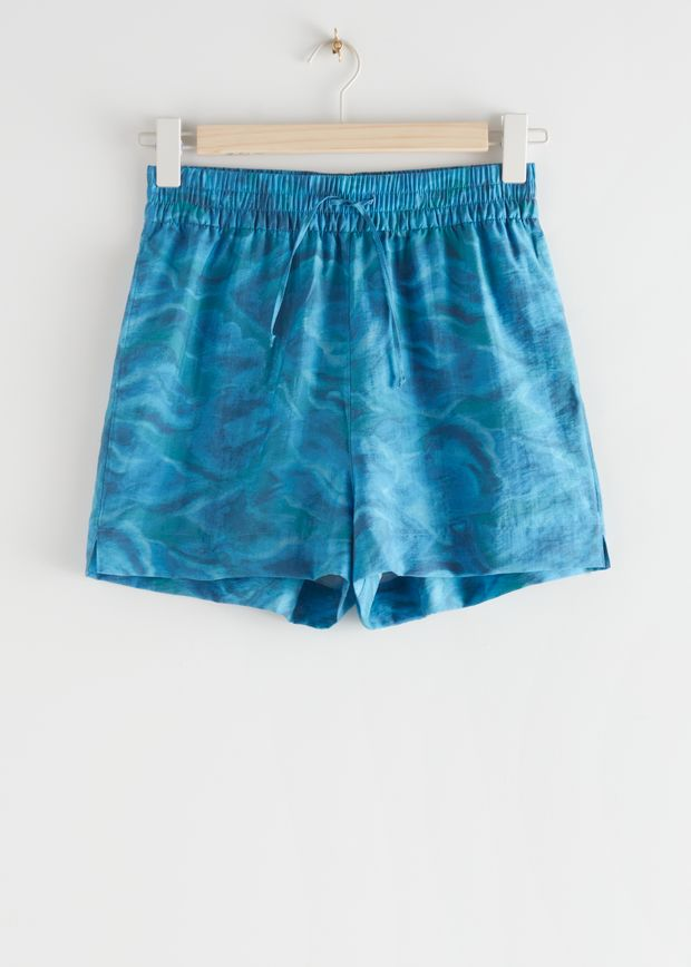 Relaxed Drawstring Shorts