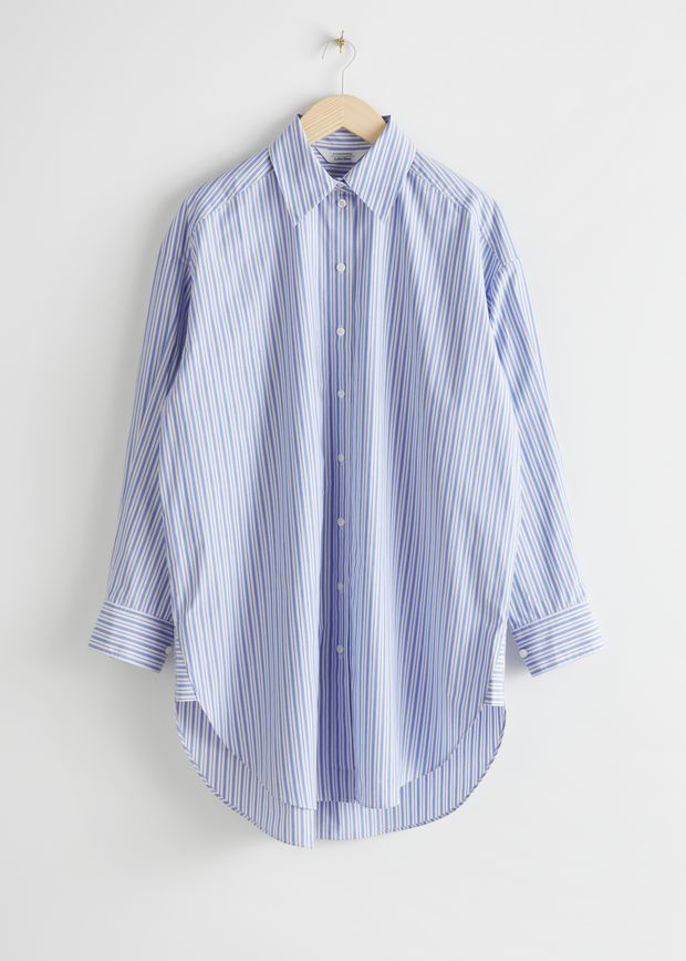 Classic Oversized Cotton Shirt