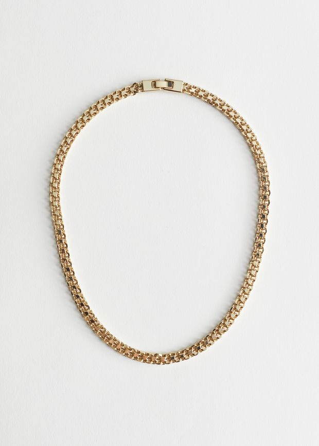 Fitted Chunky Chain Necklace