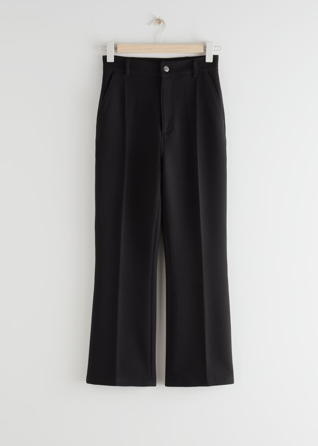 Tailored Press Crease Trousers