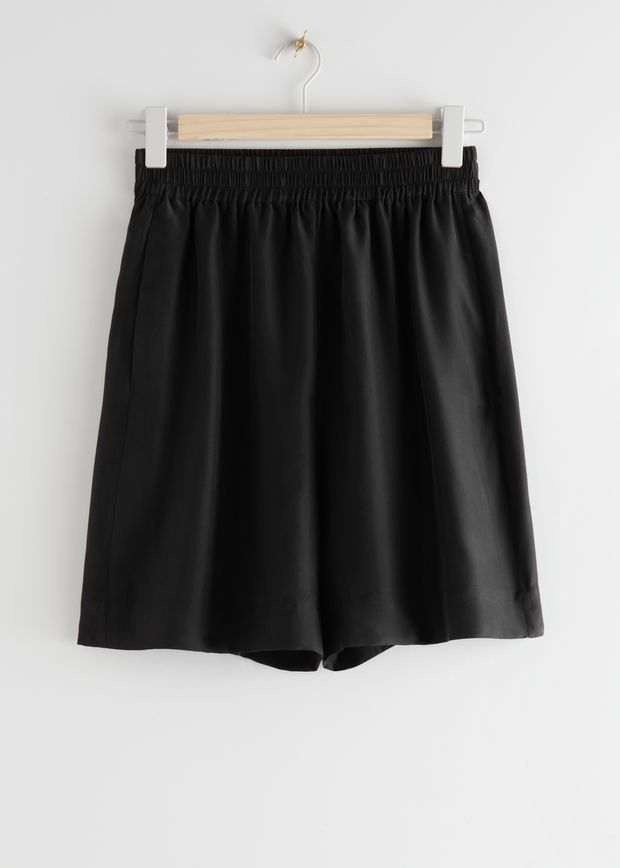 Mulberry Silk Shorts