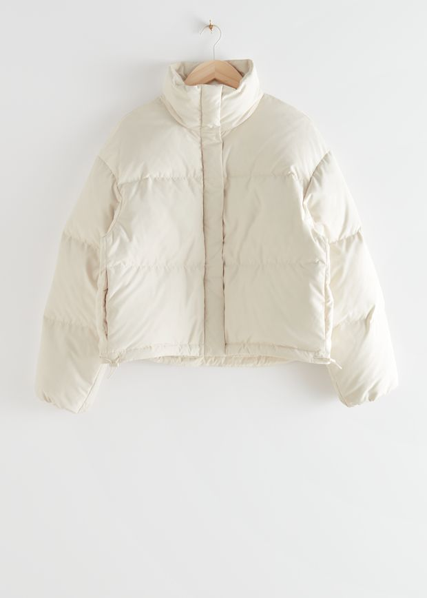 Short Oversized Puffer Jacket