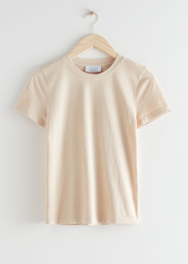 Fitted Organic Cotton T-Shirt