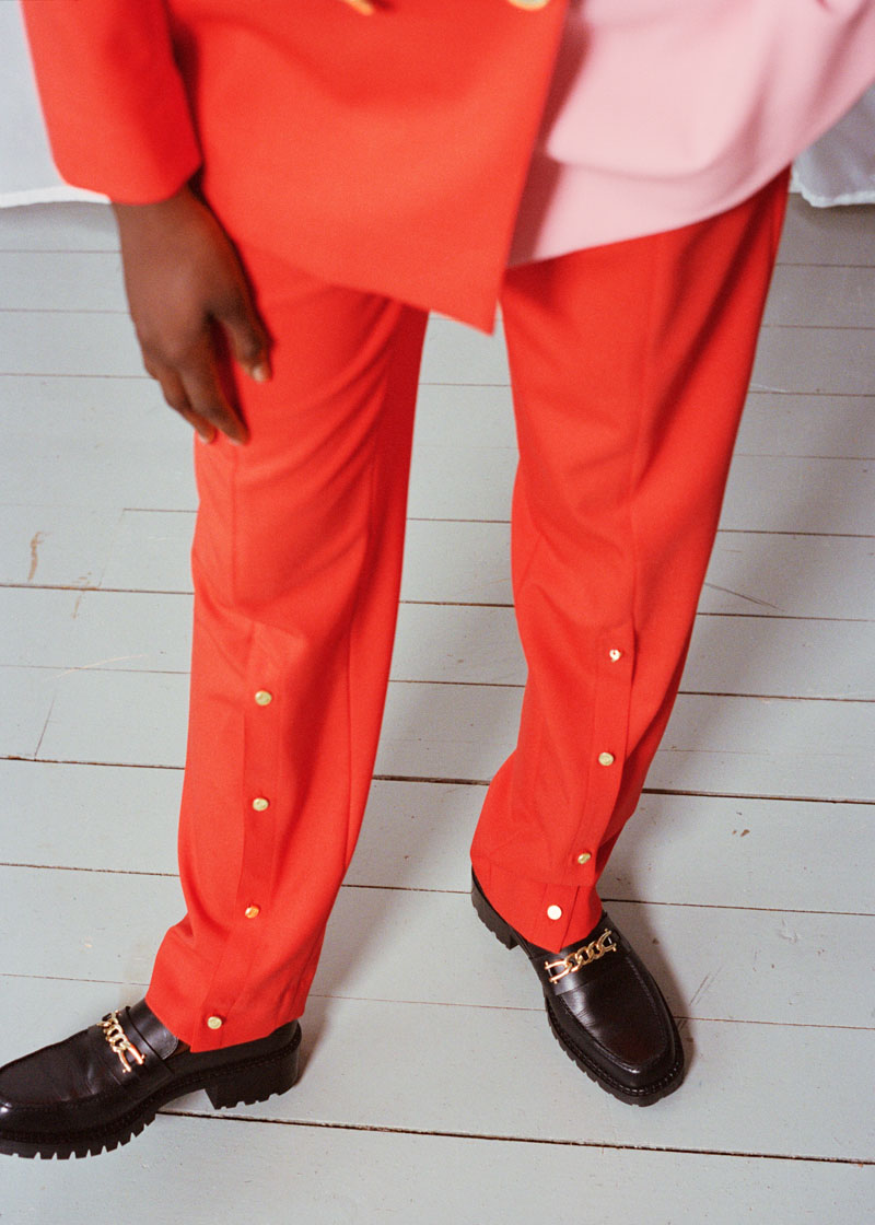 Brogger - red pink trousers