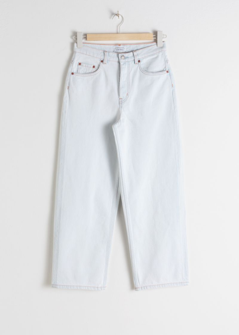 Loose Mid Rise Jeans