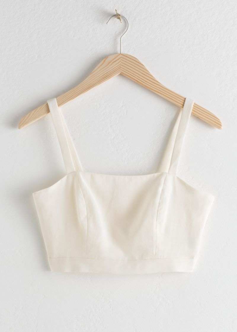Square Bustier Tank Top