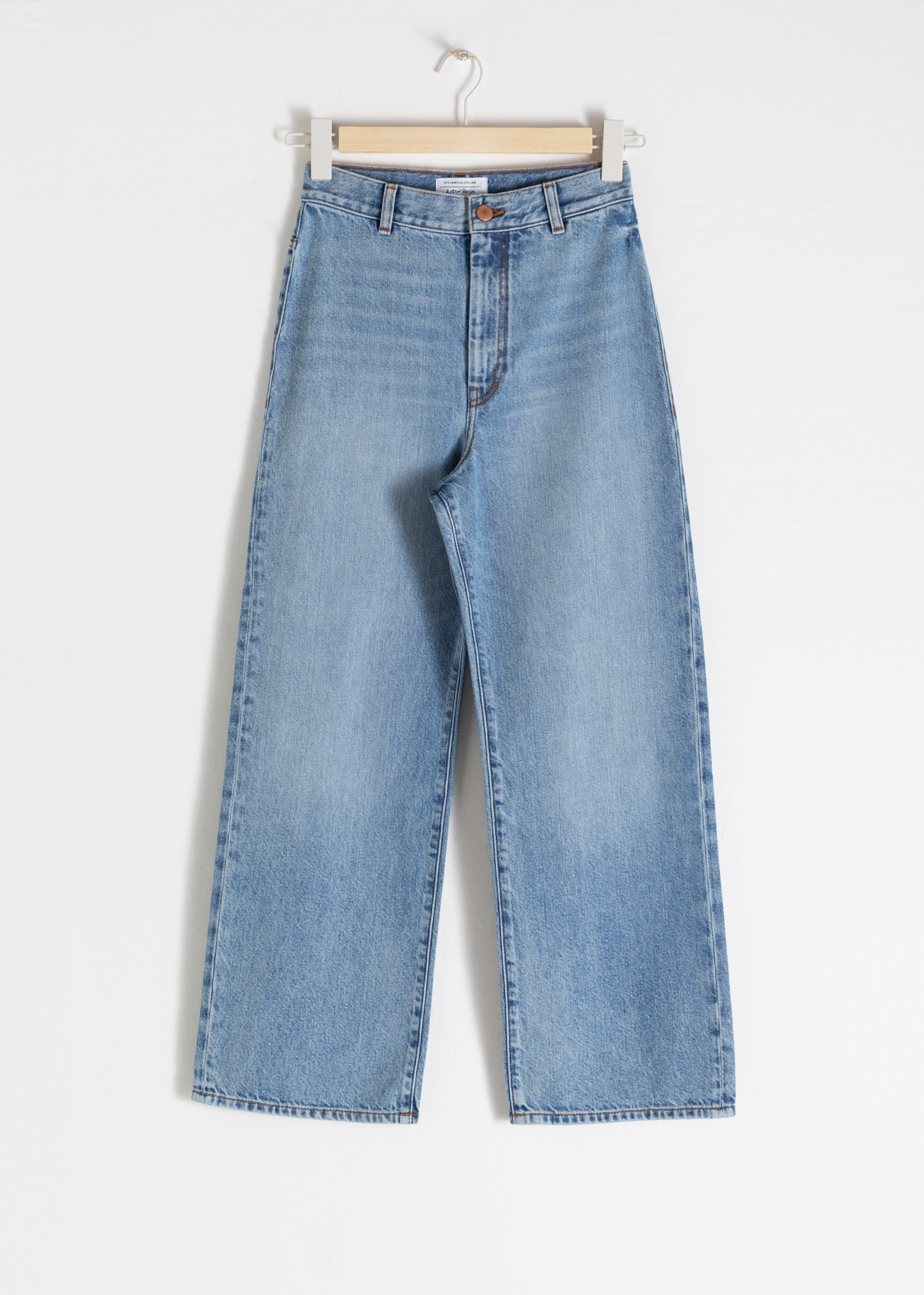 Organic Cotton Wide Jeans