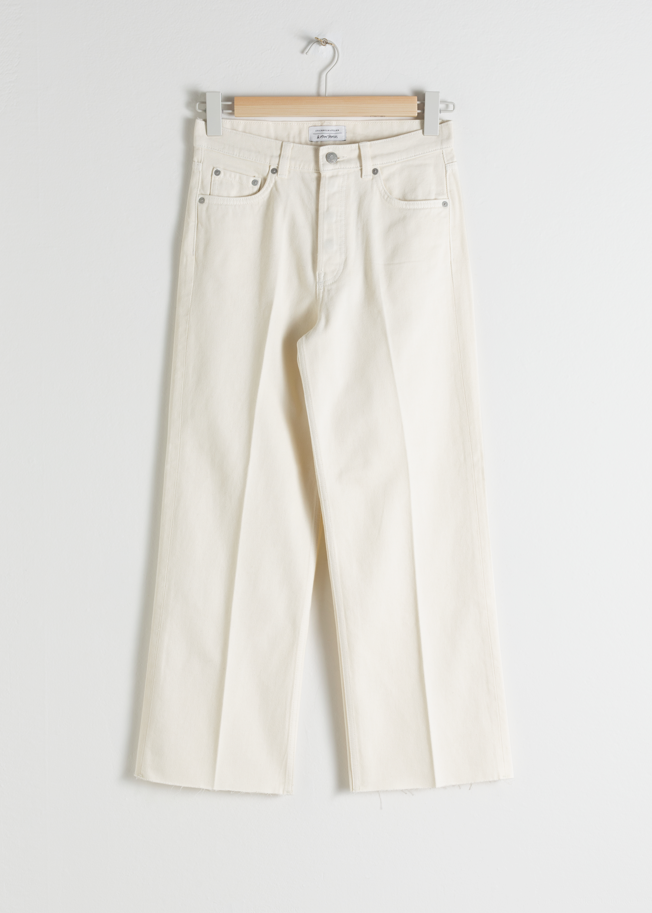 Kick Flare Mid Rise Jeans