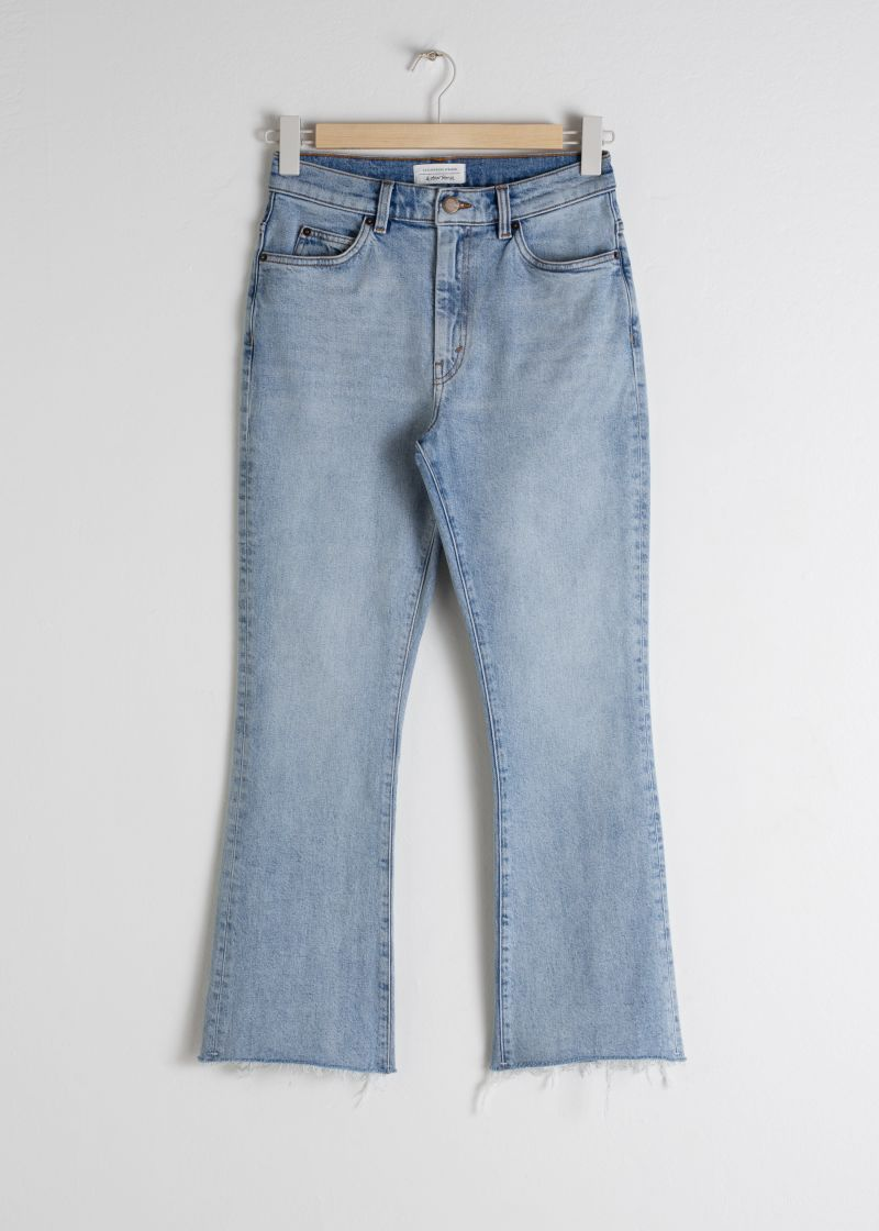 Kick Flare High Rise Jeans