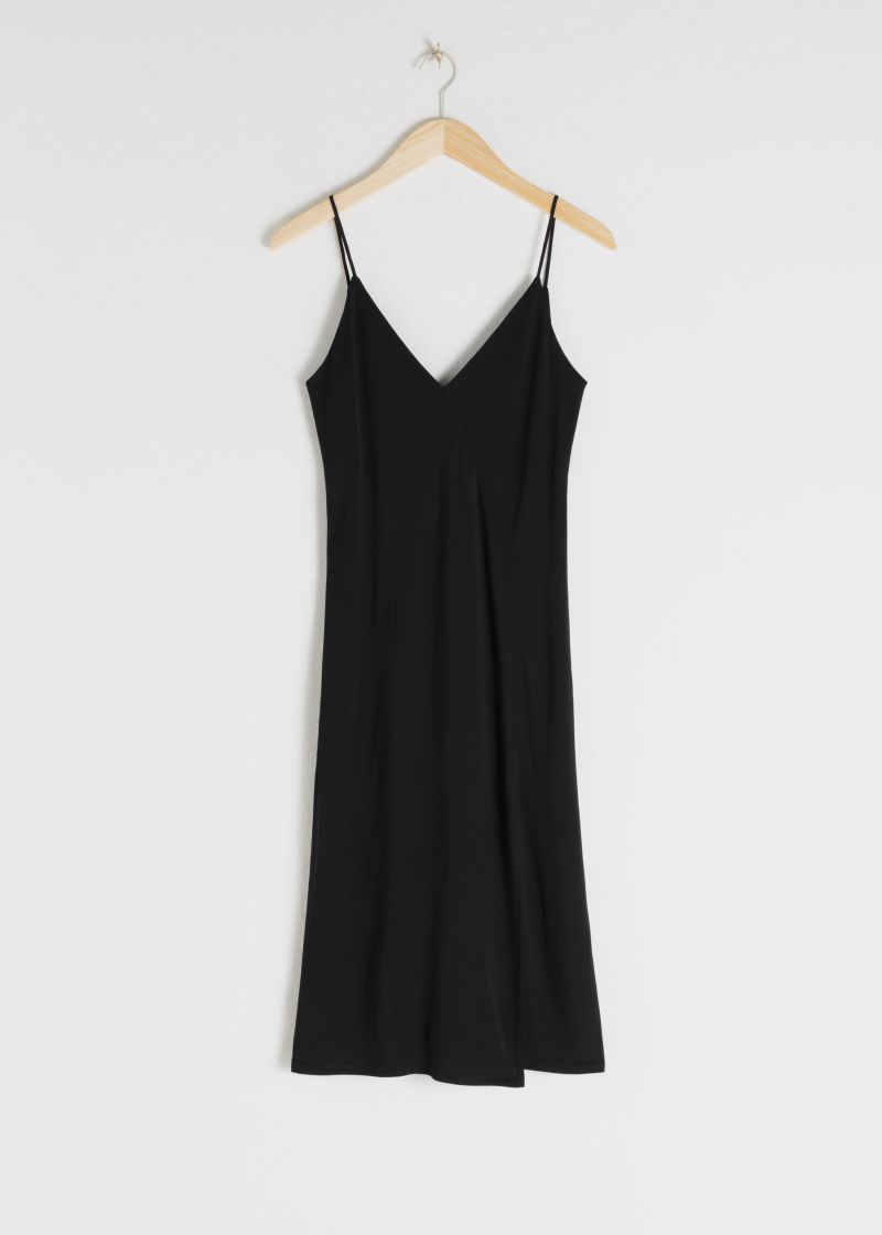 Spaghetti Strap Slip Dress
