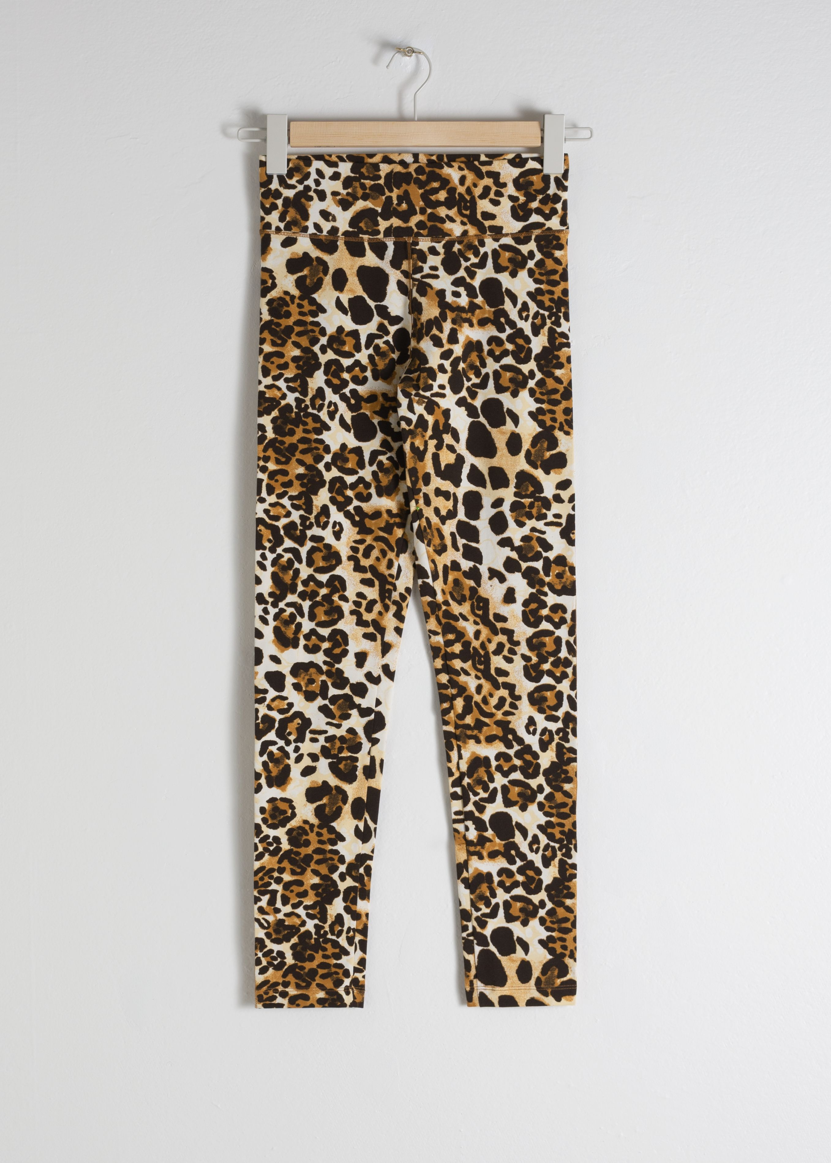 Stretch Cotton Jaguar Leggings
