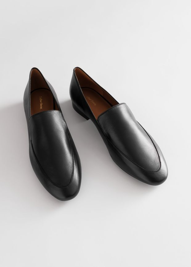Smooth Leather Classic Loafers