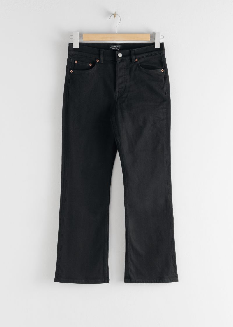 Classic Kick Flare Mid Rise Jeans