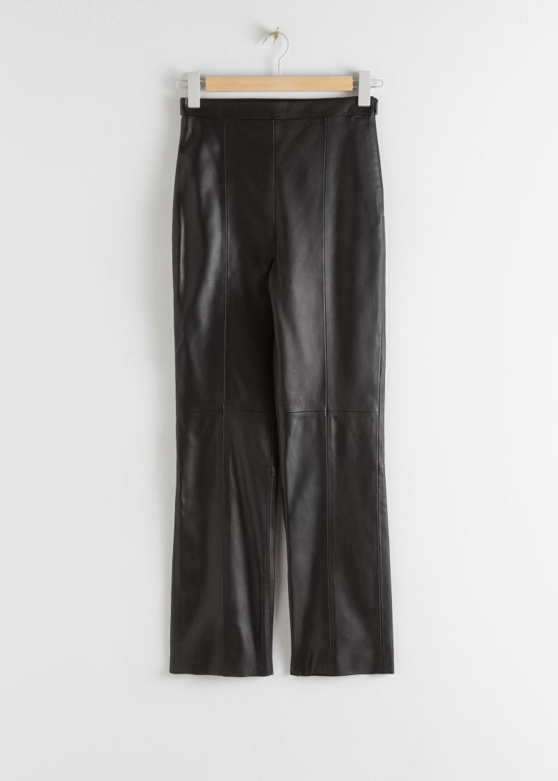 Soft Leather Trousers