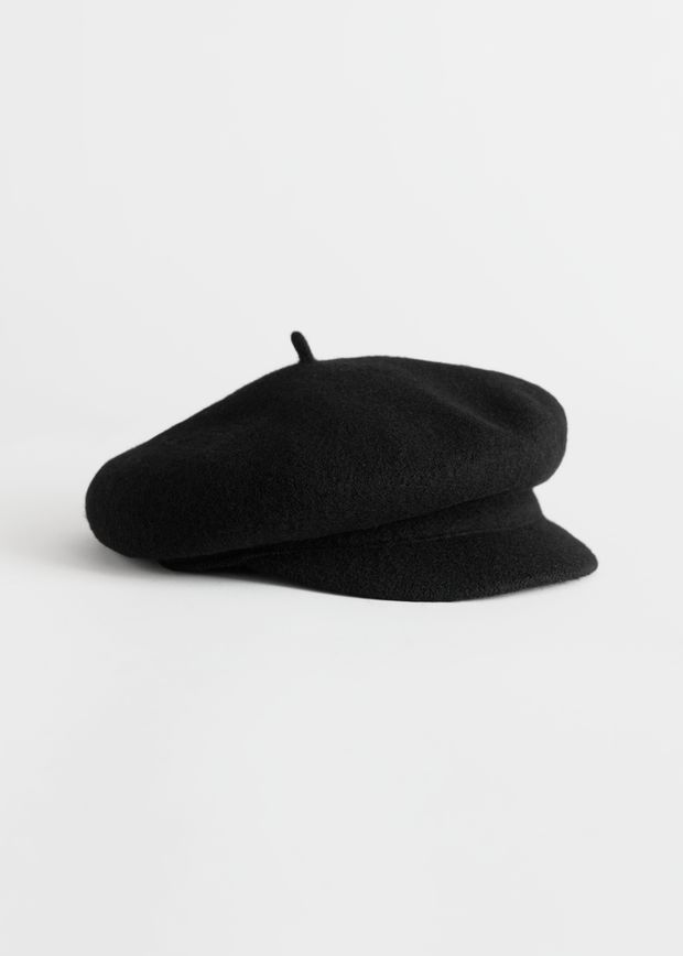 Wool Baker Boy Cap