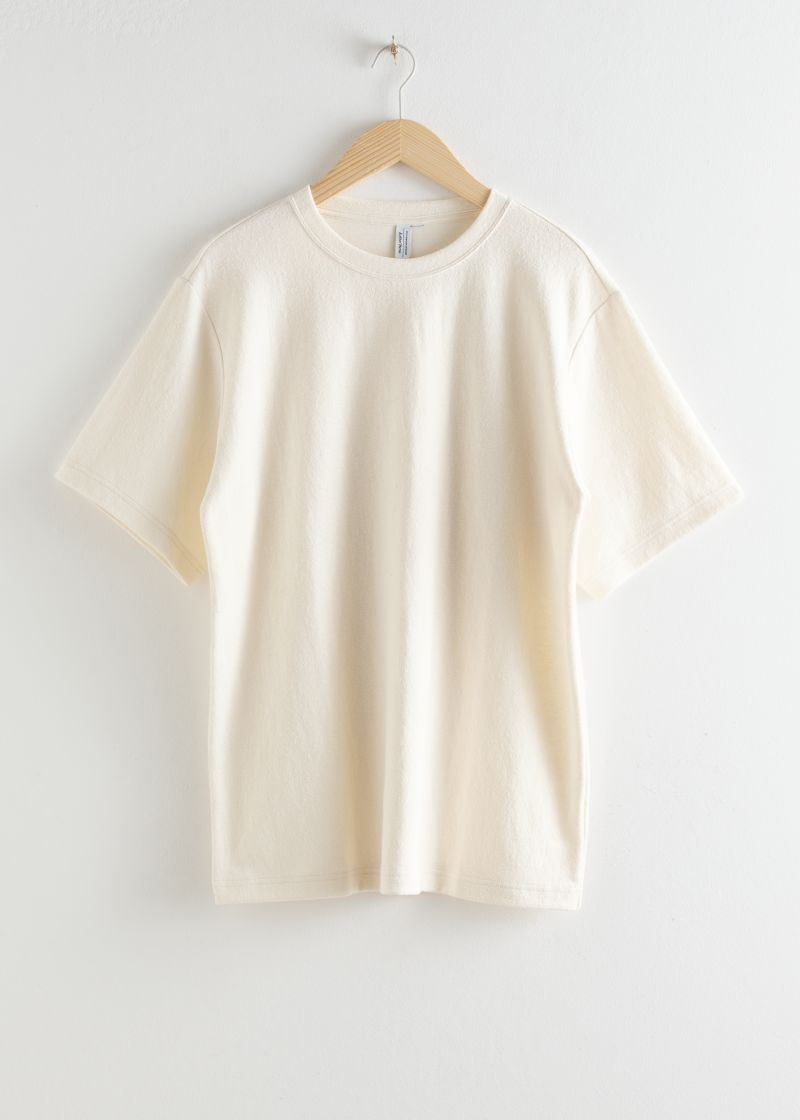 Oversized Washed Cotton T-Shirt