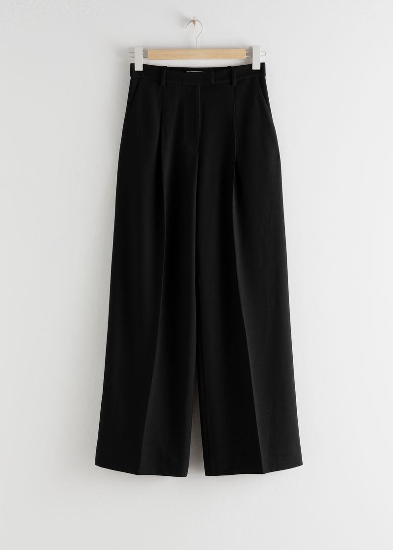 Tailored Relaxed Trousers