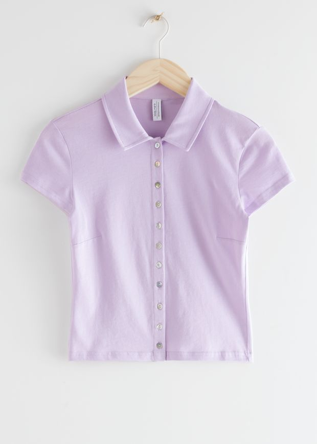 Fitted Soft Cotton Top