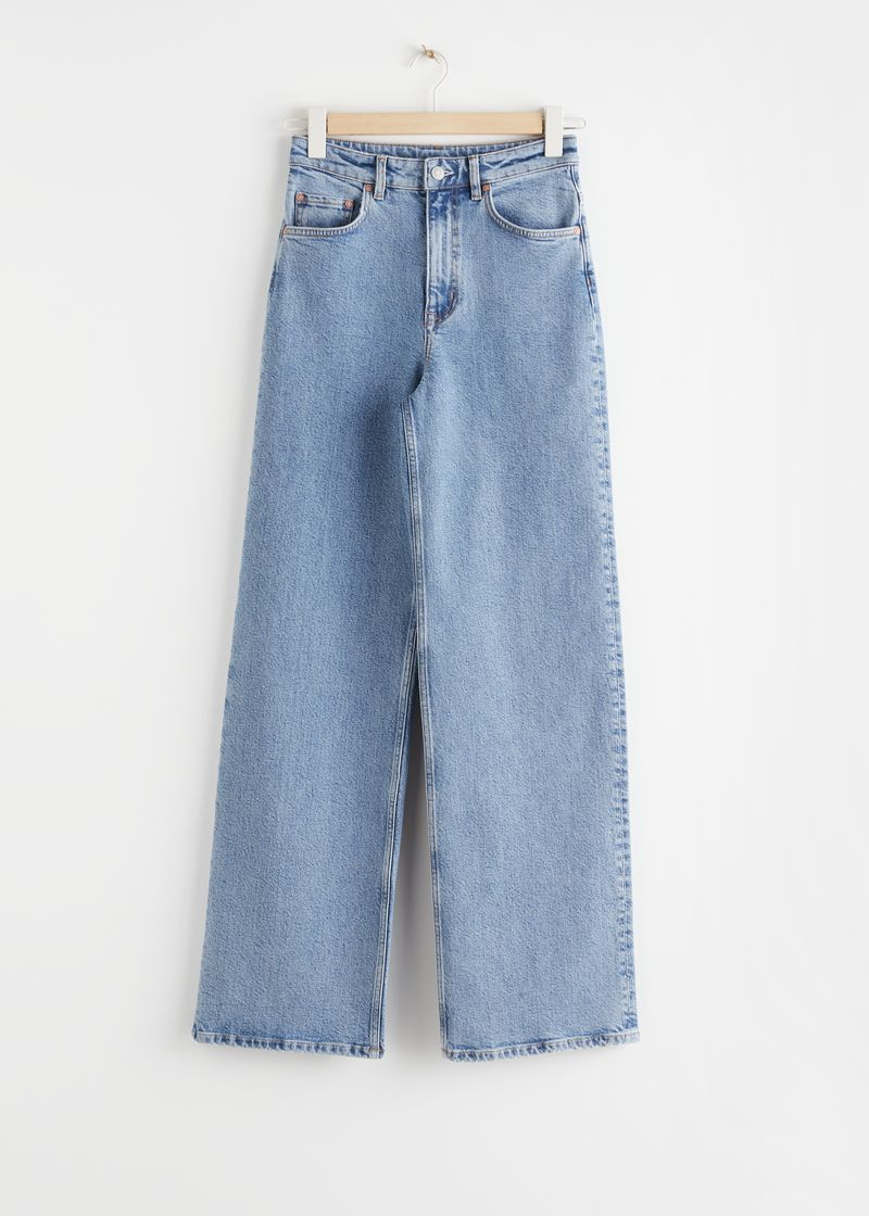 Relaxed High Rise Jeans