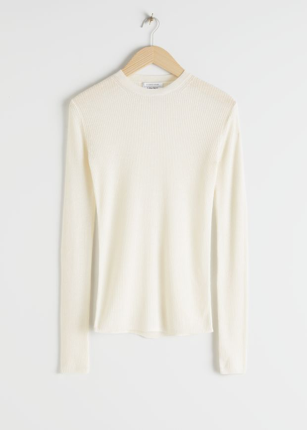Linen Silk Blend Sweater