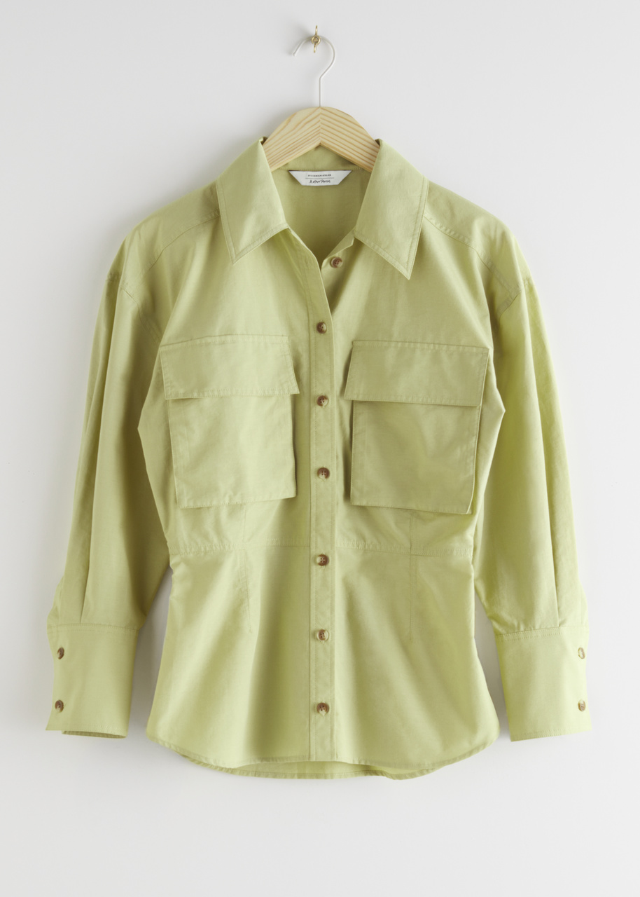 Voluminous Utility Shirt