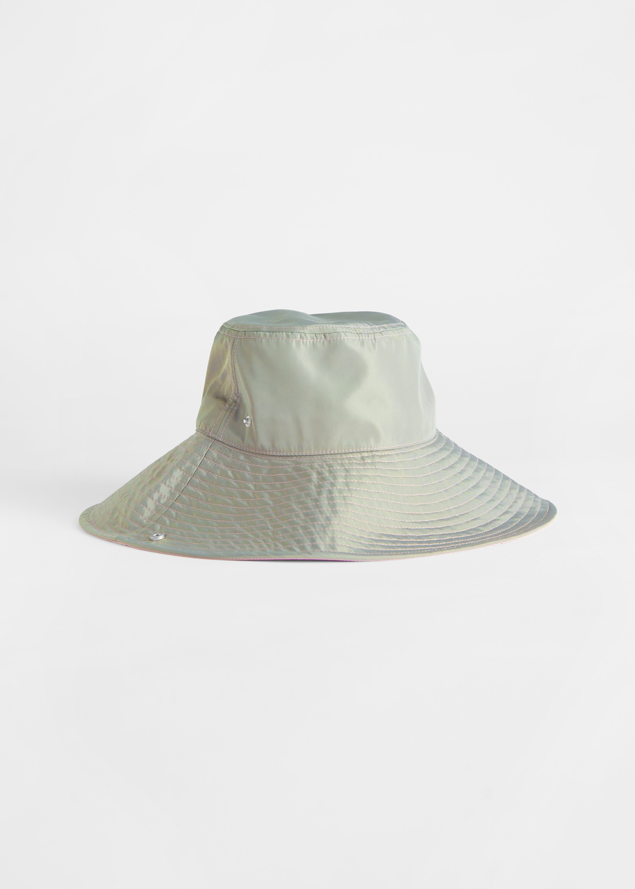 Duo Tone Wide Bucket Hat