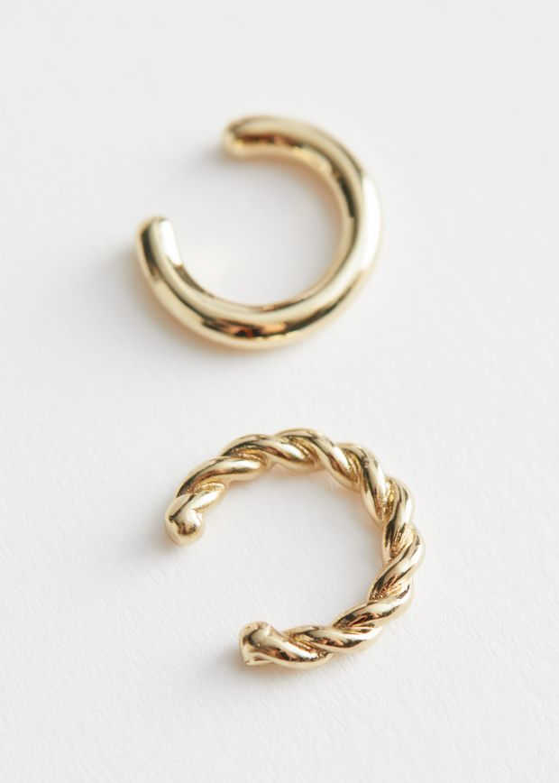 Two Pack Mismatch Ear Cuffs