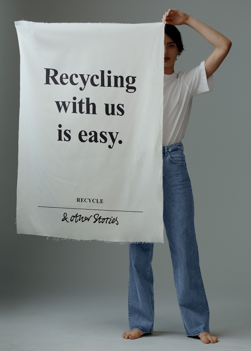 Recycling with us is easy